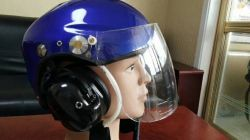 Paraglding paramotor flying helmet with interphone
